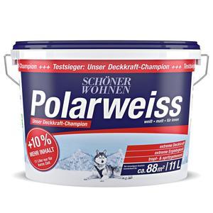 SCHÖNER WOHNEN FARBE                 Polarweiß 11 Liter (10% mehr Inhalt)