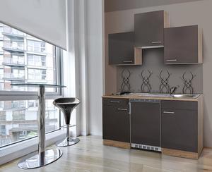 respekta Economy Küchenblock 150 cm, grau GKK