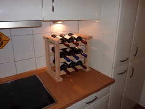 Promadino Küchenweinregal Bordeaux