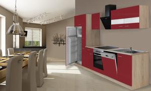 respekta Economy Küchenblock 310 cm, rot