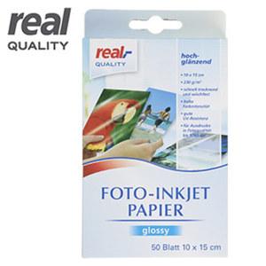 Fotopapier 230 g Glossy · 10 x 15 cm · 50 Blatt