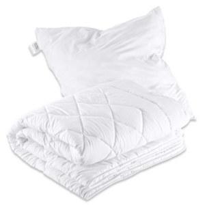 Microfaser-Betten-Set waschbar und trocknergeeignet,  135 x 200 cm und 80 x 80 cm