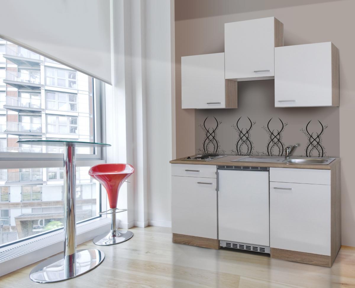 Bild 1 von respekta Economy Küchenblock 150 cm, weiß GKK