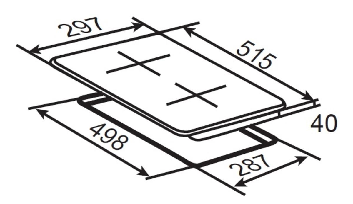 Bild 5 von respekta Economy Küchenblock 180 cm, rot GKK