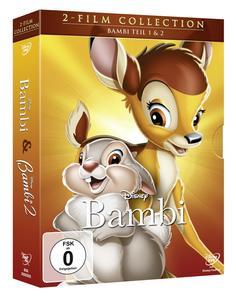 Bambi 1+2, Doppelpack DVD