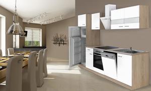 respekta Economy Küchenblock 280 cm, weiß