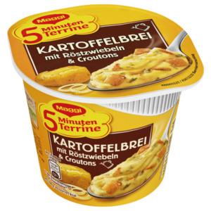 Maggi 5 Minuten Terrine Kartoffelbrei mit Röstzwiebeln