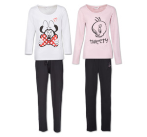 DISNEY LOONEY TUNES Modischer Damen-Pyjama