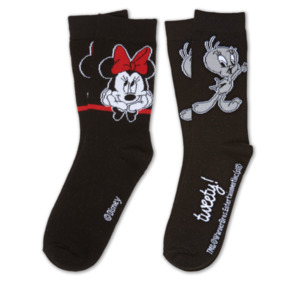 DISNEY LOONEY TUNES Damen-Socken