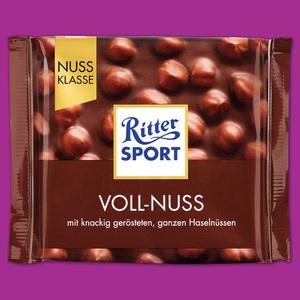 Ritter Sport Tafelschokolade Nuss Klasse