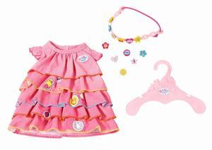 BABY born Sommerkleid Set mit Pins