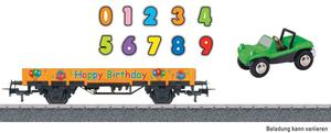Märklin Start up H0 Niederbordwagen Happy Birthday