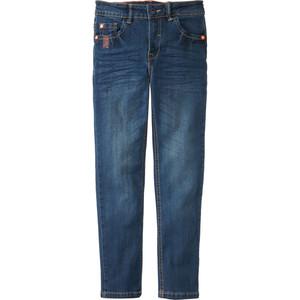 Jungen Straight Jeans mit Ziernähten