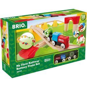 Mein erstes BRIO Bahn Set mit Batterielok