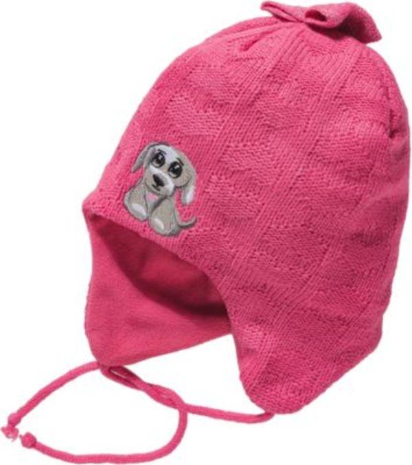 Baby Bommelmütze für Mädchen, Hase Gr. 40-42 Jungen Baby