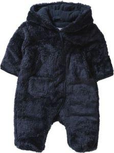 Baby Plüsch-Overall Gr. 62/68 Jungen Kinder