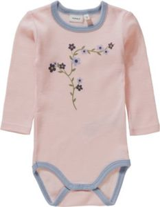 Body NBFWILLOW aus Wolle Gr. 68 Mädchen Baby