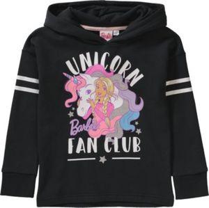 Barbie Kapuzenpullover Gr. 116/122 Mädchen Kinder