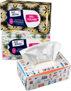 Soft&Sicher Taschentücher Box mit extra großen Taschentüchern