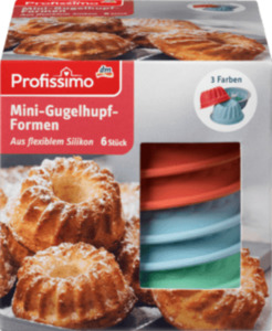 Profissimo Mini-Gugelhupf Formen
