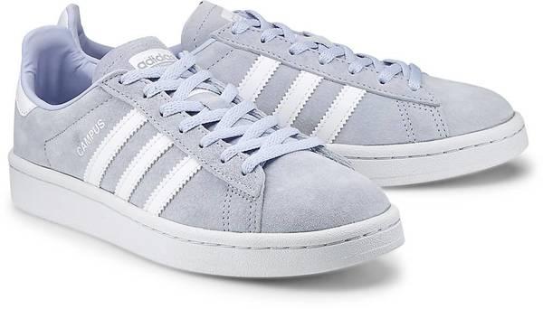 Sneaker Campus W von Adidas Originals in blau für Mädchen. Gr. 43 1/3