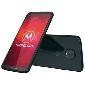 MOTOROLA Sparpaket - moto z3 play Smartphone inkl. moto power pack + Motorola Pulse Escape - Drahtloser Bluetooth-Kopfhörer