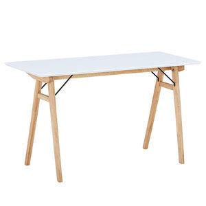 Schreibtisch Blokhus (120x60, weiß)