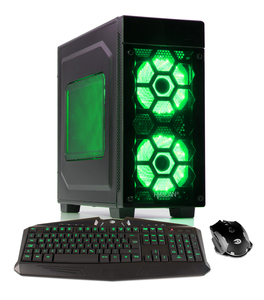 Hyrican Striker PCK06057 Gaming-PC [i7-8700 / 16GB RAM / 240GB SSD / 1TB HDD / RTX 2080 / Intel H310 / Win10]