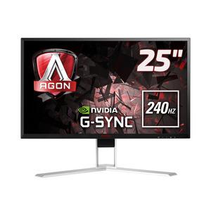 AOC AGON AG251FG - 62 cm (24.5 Zoll), LED, Nvidia G-Sync, 1 ms, 240 Hz, Höhenverstellung, HDMI