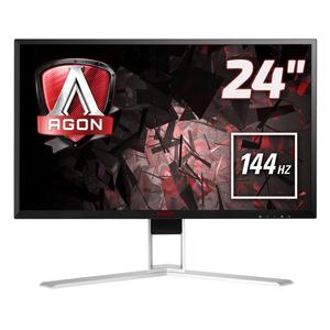 AOC AGON AG241QX - 60,5 cm (23,8 Zoll), LED, QHD, 1 ms, 144 Hz, Höhenverstellung, 2x HDMI