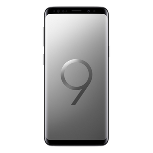 "Samsung Galaxy S9 Duos 256GB Titanium Grey [14,7cm (5,8"") QHD+ Display, Android 8.0, 2.7GHz Octa-Core, 12MP]"