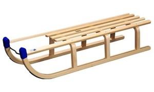 Holzschlitten Davos ´´Buche-Hartholz, 110 cm´´