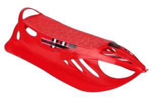 KKM-ski Kunststoffschlitten Firecom ´´rot, 93 x 44 x 22 cm´´
