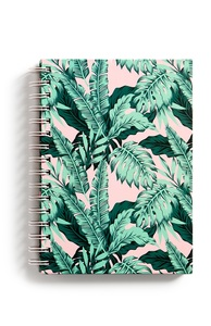 Notizbuch mit Palmenprint