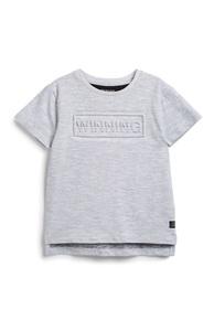 Graues T-Shirt (kleine Jungen)