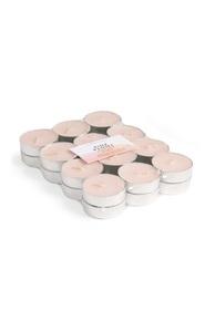 """""""Pink Peony"""" Teelichter, 24er-Pack"""