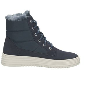 Damen High Top Sneaker, dunkelblau