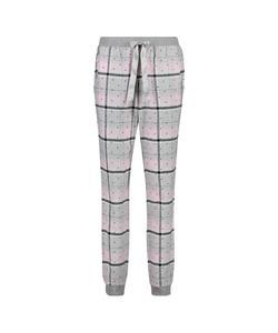 Hunkemöller Pyjamahose Check Rosa