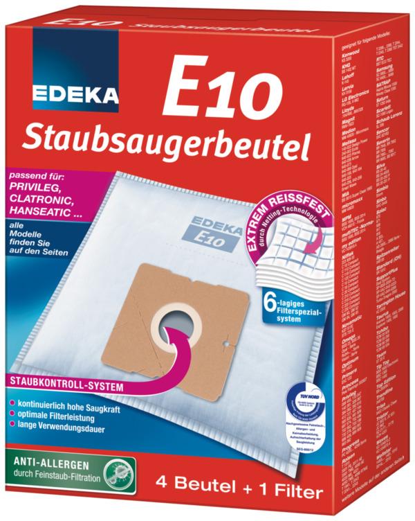 EDEKA Staubsaugerbeutel E10 1 Stk
