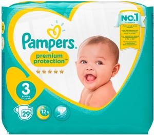 Pampers Premium Protection 3 Gr.3 6-10kg 29 Stk
