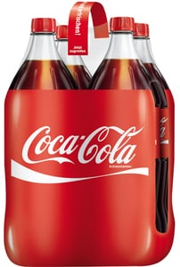 Coca-Cola Coke PET 4x 1,5 ltr 4x 1,5 ltr