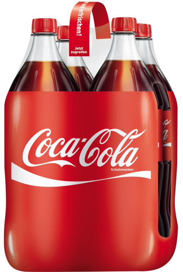 Coca-Cola Coke PET 4x 1,5 ltr 4x 1,5 ltr
