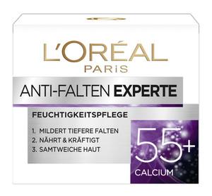L'Oréal Anti-Falten Experte Feuchtigkeitspflege 55+ Calcium 50 ml