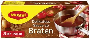 Maggi Delikatess Sauce zu Braten klein ergibt 3x 250 ml