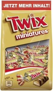 Twix Miniatures Schokoriegel 150 g