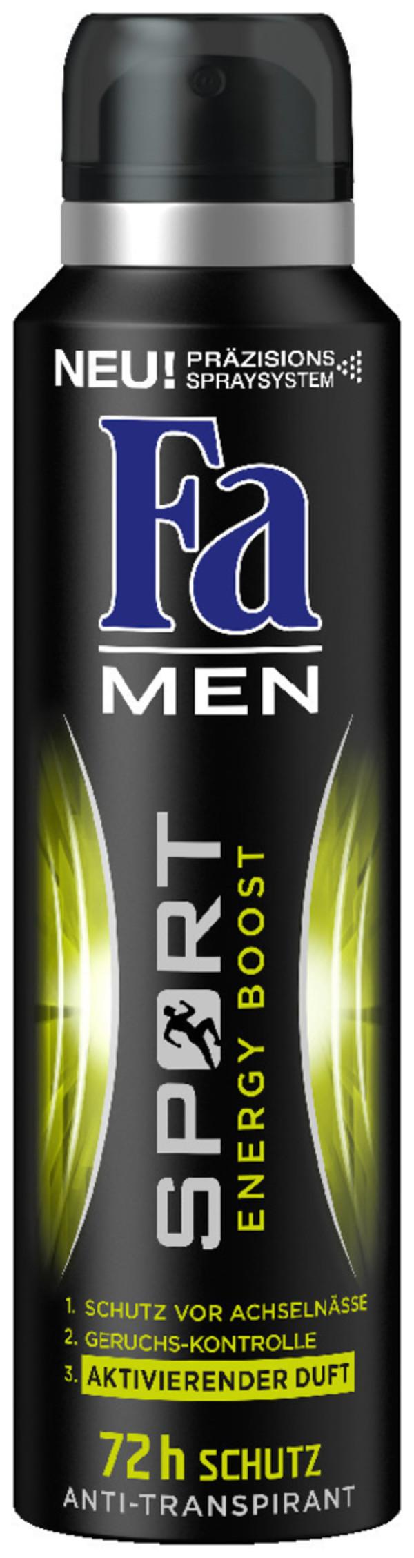 Fa Deospray Men Sport Energy Boost 150 ml