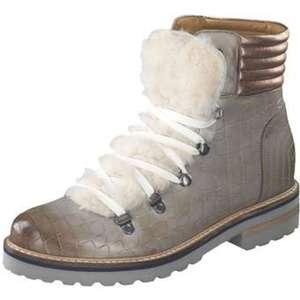 Melvin & Hamilton Schnür Boots Damen grau