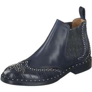 Melvin & Hamilton Chelsea Boots Damen blau