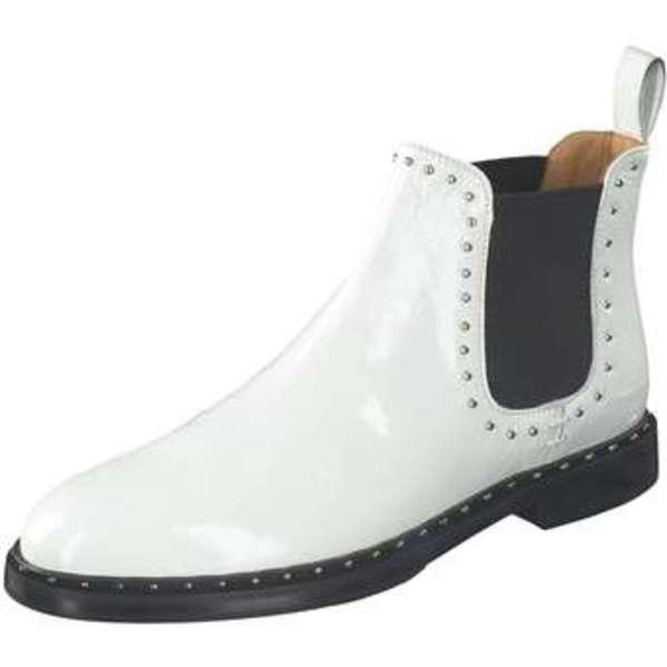Melvin & Hamilton Chelsea Boots Damen weiß