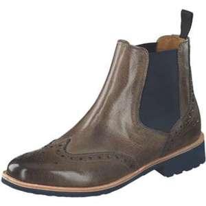 Melvin & Hamilton Chelsea Boots Damen grau